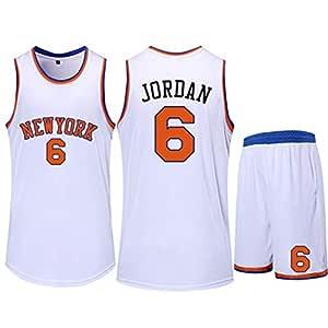 HS-QIAN1 6# Deandre Jordan New York Knicks Conjunto De Camiseta De ...