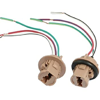 41sxcxw3zML._SL500_AC_SS350_ amazon com ijdmtoy 7440 7443 wiring harness sockets for led bulbs turn signal wire harness at crackthecode.co