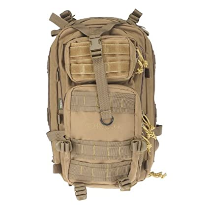 8bde7cf5f9f1 Image Unavailable. Image not available for. Color  Drago Gear Tracker  Backpack Tan