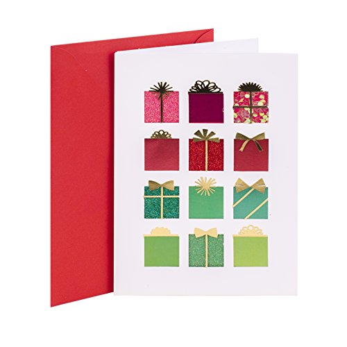 Hallmark Signature Holiday Money or Gift Card Holder (12 Gifts) (Best Itunes Gift Card Offers)