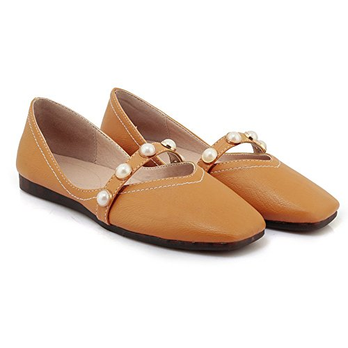 Taille Bureau EU35 UK3 D Mémoire Le Fit Mousse Work Shoes sur Mémoire CN34 Comfort Partie Womens Mesdames A Couleur ZHANGRONG Plus Wide Talon Court Formelle Glisser wAq1BFZ