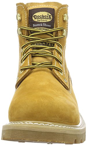Dockers 23DA004 - Botas hombre Amarillo - Jaune (Golden Tan 910)