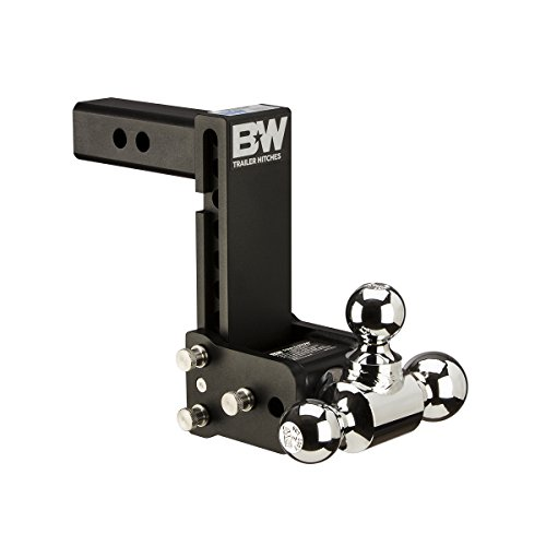 - B&W TS10049B Tow and Stow Magnum Receiver Hitch Ball Mount