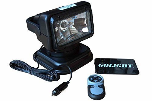Golight Radioray GL-7951 Wireless Remote Control Spotlight - Handheld Remote -Magnetic Shoe review