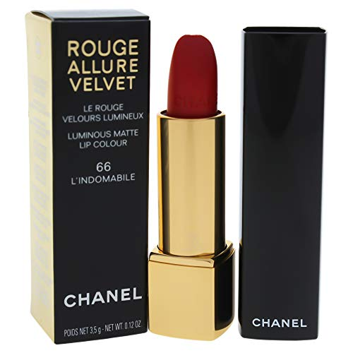 Chanel Rouge Allure Velvet Luminous Matte Lip Colour, 66 Lindomabile, 0.12 Ounce