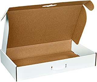"""product image for Partners Brand PMCC6 24""""L x 14""""W x 4""""H, White (Pack of 10)"""