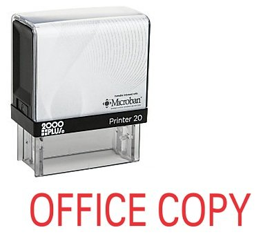 Shop Stamp (OFFICE COPY Office Self Inking Rubber Stamp - Red Ink (A-5320))