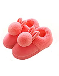 xhorizon FL1 Baby Girls Slippers Warm Winter For Kids Toddlers Girls Parent-Child Shoes Slippers