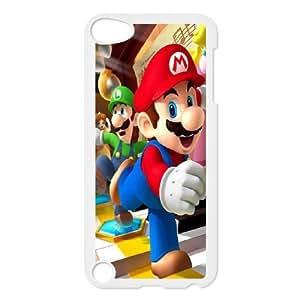 Mario and luigi iPod Touch 5 Case White Delicate gift JIS_397261
