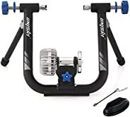 unisky Fluid Bike Trainer Stand Indoor Exercise Bicycle Training Stand Mountain & Road Bike Flywheel S