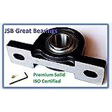 Premium Solid Base UCP207-21 Triple Seals ABEC3 Pillow Block Bearings 1-5/16 bore UCP207