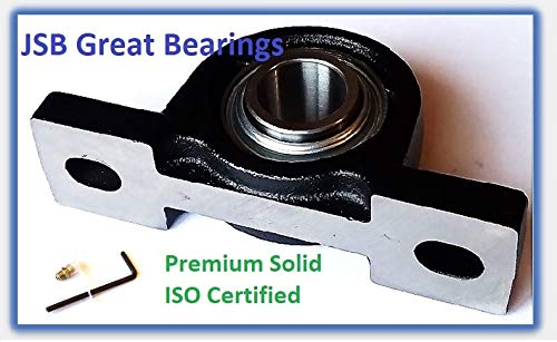 "Premium Solid Base UCP210-32 Triple Seals ABEC3 Pillow Block Bearings 2/"" bore UCP210"