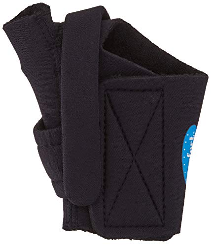 - Comfort Cool Arthritis Thumb Splint-Black-Medium-Right