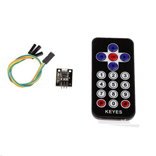 WINGONEER New Style Infrared IR Wireless Remote Control Sensor Module Kits for Arduino Infrared Remote Control Sensor