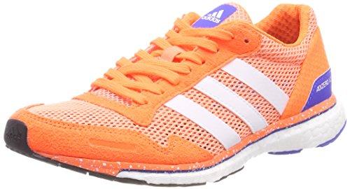 adidas Adizero Adios W, Chaussures de Running Entrainement Femme Rose (Chalk Coral/footwear White/orange)