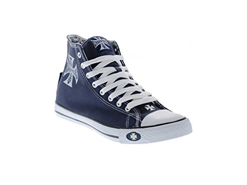 West Coast Choppers Warrior Sneakers Dark Navy, 46