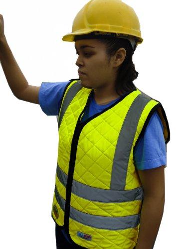 Cool Medics M1142 Women's Hi-Vis Vest, Medium, Yellow
