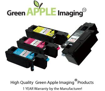 XEROX PHASER 6000 ,6010 4PK Value Bundle Green Apple Imaging High Quality ,High Yield Compatible Toner Cartridges(106R01630 BK,106R01629 Y,106R01628 M,106R01627 C), Office Central