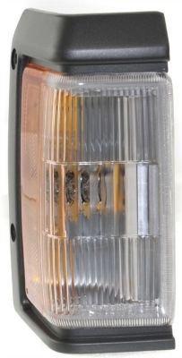 Evan-Fischer EVA20572013283 Corner Light Passenger Side RH Lamp Park Parking Marker Plastic lens Clear and amber DOT, SAE approved