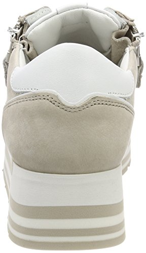 Kennel En Schmenger Dames Nova Sneaker Grijs (taiga Enige Romig Wit)