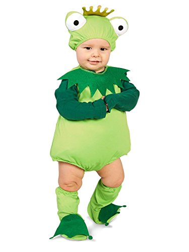 [Frog Prince Infant Costume 12-18M] (Frog Prince Baby Costumes)