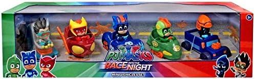 Disney Junior PJ Masks Race into the Night Exclusive Mini Vehicle 5-Pack Set [並行輸入品]