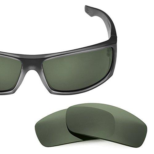 Verres de rechange pour Spy Optic Cooper XL — Plusieurs options Gris Vert - Non-Polarisés
