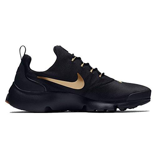 Nike Mens Presto Fly Running Shoes Black/Metallic Gold/Gum 908019-010 Size 12