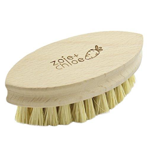 - Zoie + Chloe 100% Natural Plant-Fiber Soft Bristles Vegetable Brush