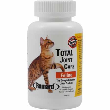Capsules 60 Sprinkle (Ramard 079080 Total Joint Care Feline sprinkle Capsules , 60Count)