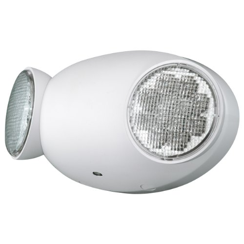 Compass CU2 Hubbell Lighting LED 2 Head Emergency Light