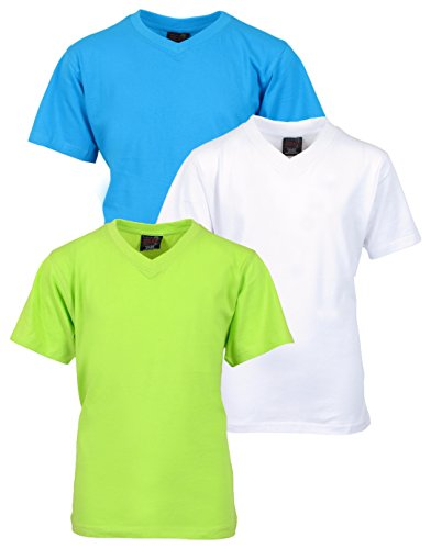 Quad Seven 3 Pack V Neck T Shirts product image