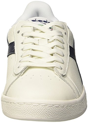 bianco Diadora Eur Game bianco Mar Caspio Black High L Shoe Bianco Waxed Unisex Tennis Adults' blu 0 42 wFqwCf4