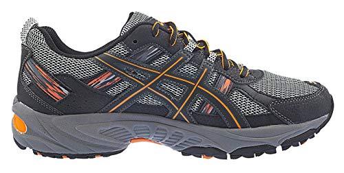 ASICS Men's Gel Venture 5 Running Shoe (8 D(M) US, Black/Shocking Orange) by ASICS (Image #5)