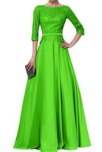 Abendkleider lang grun spitze