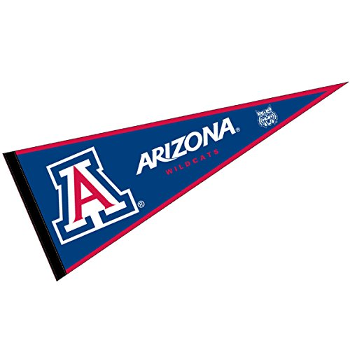 (College Flags and Banners Co. Arizona Wildcats Pennant Full Size Felt)
