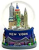 New York Blue Snow Globe 106, New York City Souvenirs, New York City Gifts