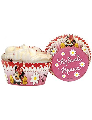 50 Minnie Mouse Polka Dot Cupcake Cake -