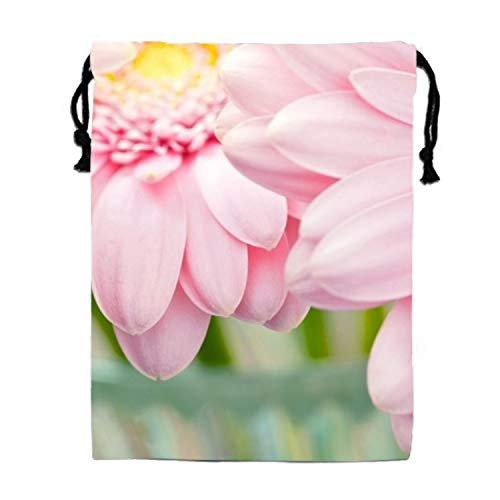 FlowersGraphySoft Drawstring Cosmetics Cases Storages Holders Wash Bags ()