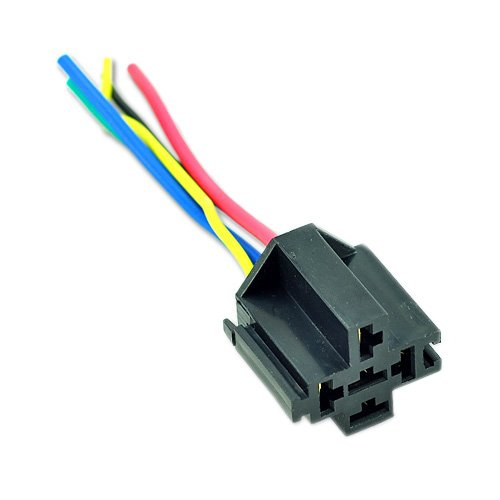 car auto truck relay socket spdt 12v 12 volt dc 40a amp. Black Bedroom Furniture Sets. Home Design Ideas