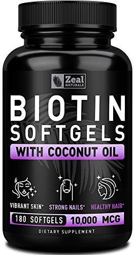 Pure Biotin 10000mcg Organic