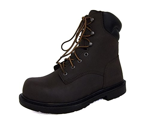 """Worx by Red Wing 5808 8"""" Steel Toe Work Boot (11.5M)"""
