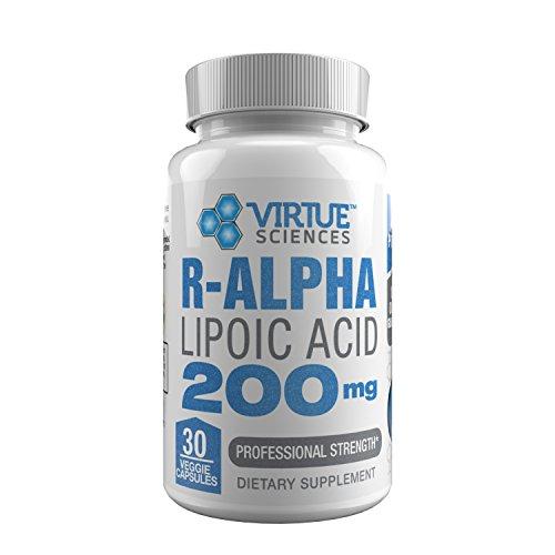 R Alpha Lipoic Acid 200mg Professional Strength 30 Capsules