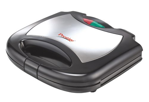 34088547ace Buy Prestige PGMFS 700-Watt Grill Sandwich Maker (Black) Online at Low  Prices in India - Amazon.in