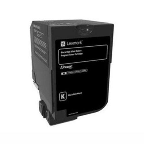 Lexmark High Yield Black Return Program Toner Cartridge for US Government, 25000 Yield (84C0HKG)