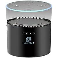 Echo Dot Battery Charger, Houzetek 10000mAh Portable Battery Charging Base Rechargeable Battery Case for Amazon 2nd Generation Echo Dot