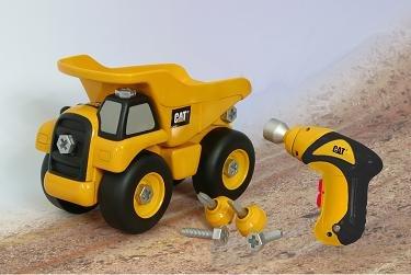 Amazon Com Cat Take Apart Dump Truck Toys Games