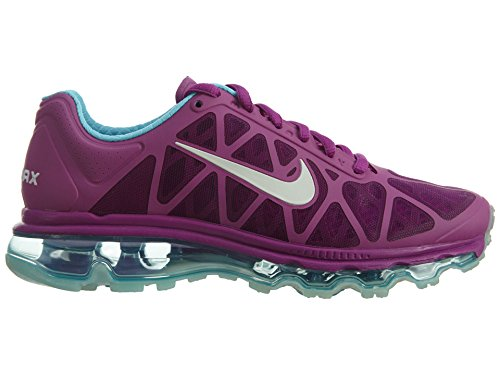 Nike Air Max 2011 Womens Purple Dsk / Metallic Platinum-td Pl Bl-c