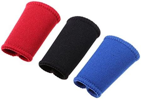 Sharplace 3er Set Atmungsaktive Fingerbandagen Fingerband Daumenbandagen Schutz für die Finger Unterstützung Bei Arthritis und Beim Sport