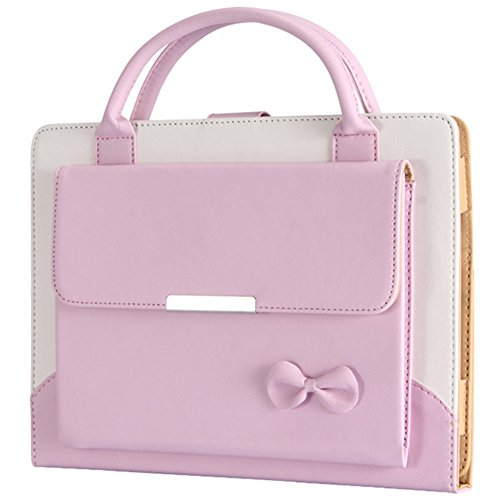 AMETON Lovely Handbag Synthetic Leather Magnetic Smart Stand